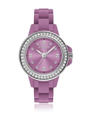 K&Bros  Reloj 9571 (Violeta)
