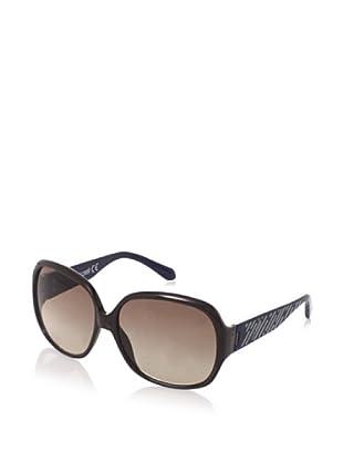 Just Cavalli Women's JC342S Sunglasses, Brown/Blue