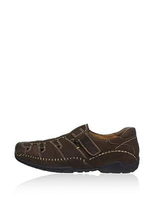 Fretz Men Zapatos Coosa (Marrón Oscuro)