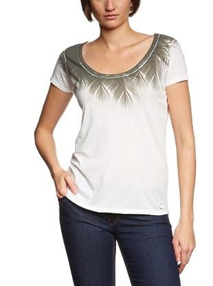 Lee Camiseta Abstract (Blanco)