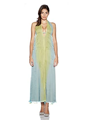 Evaw Wave Vestido Edremit (Verde)