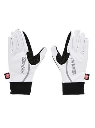 Santini Handschuhe (Weiß/Schwarz)