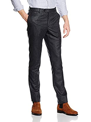 Hackett London Pantalón Lana Mayf Plain Flannel