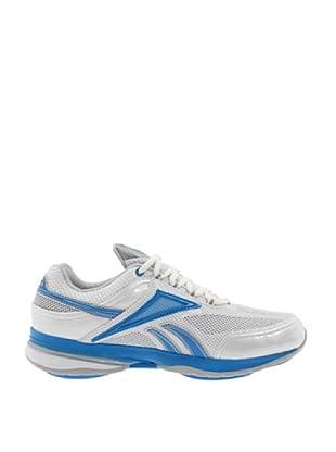 Reebok Zapatillas Easytone Reenew (Blanco / Azul / Plata)