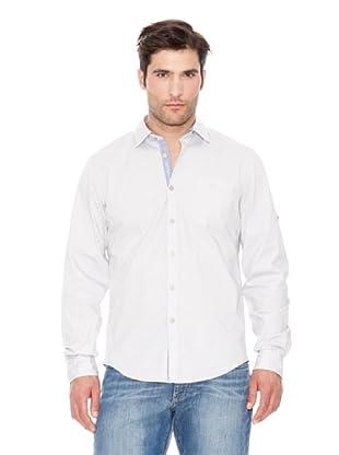 Calvin Klein Jeans Camisa Stretch M / L (Blanco)