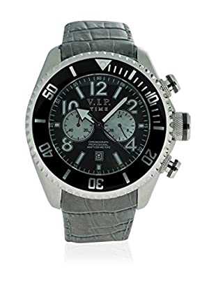 Vip Time Italy Uhr mit Japanischem Quarzuhrwerk VP5004GY_GY grau 50.00  mm