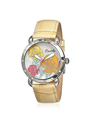 Bertha Women's BR1504 Josephine Yellow/Multi Leather Watch