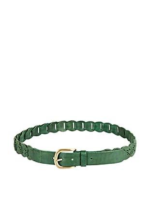 Cortefiel Cinturón Lengüetas (Verde Oscuro)