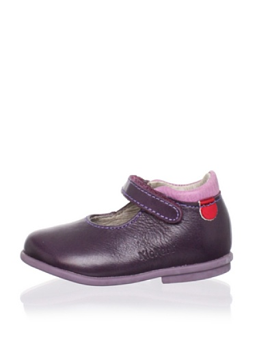 Kickers Kid's Swallow Mary Jane (Toddler) (Violet)