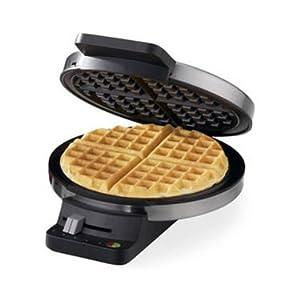 Nova NT-237W 4-Slice Waffle Maker - Steel & Black