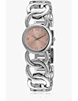 Cla0383Rsbx Pink/Silver Analog Watch Clyda