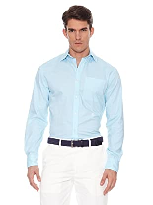 Hackett Camisa Bolsillo (Turquesa)