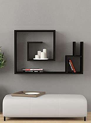 Decortie by Homemania Estante Lumaca (Negro)