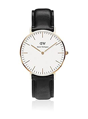 Daniel Wellington Reloj con movimiento cuarzo japonés Woman Classic Sheffield 36 mm