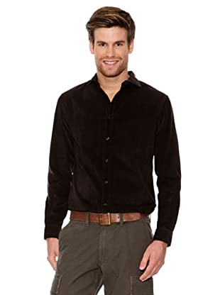 Dockers Camisa de Pana (marrón)