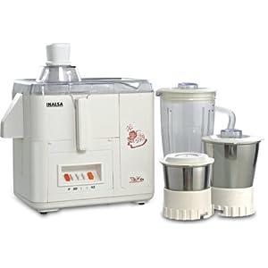 Inalsa Star Dx 500-Watt Juicer Mixer Grinder with 3 Jars