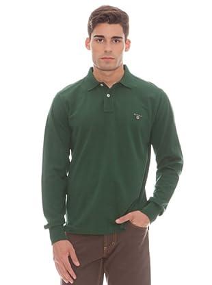 Gant Polo Liso (Verde)