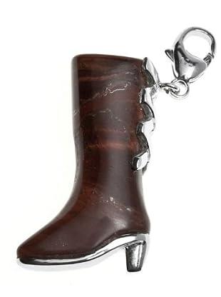 Luxenter CC104 - Charm Cord Boots de plata