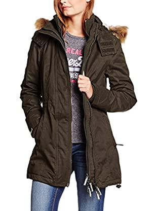 Superdry Strickmantel Microfibre Tall Windparka