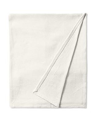 Nautica Twill Cotton Blanket (Ivory)