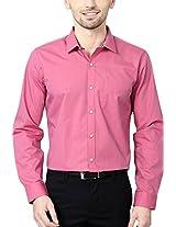 Van Heusen Men's Slim Fit Shirt_ VHSF515M09500_46_ Pink