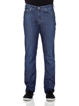Carrera Jeans Pantalón Denim Stretch 8,5 O (Azul Medio)