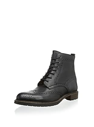 Modern Fiction Men's Brogue Boot (Black)
