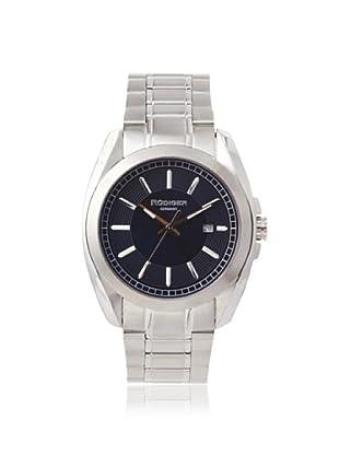 Rudiger Men's R1001-04-003 Dresden Stainless Steel Blue Dial Watch