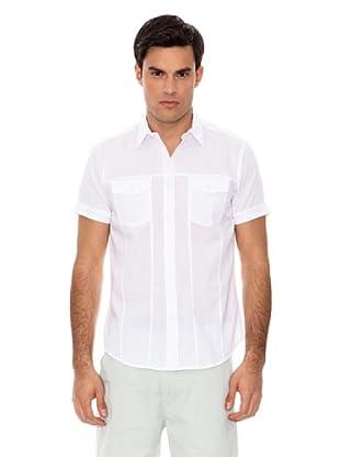 Springfield Camicia Dobby (Bianco)