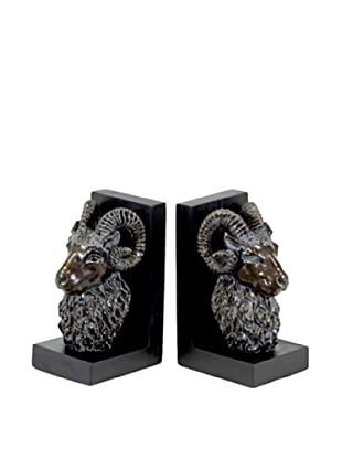 Urban Trends Collection Ram Bookends