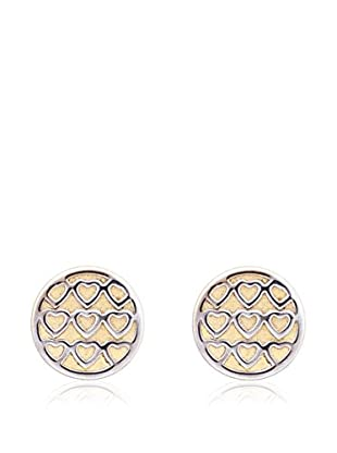 GOLD & DIAMONDS Pendientes Cuore oro amarillo 18 ct