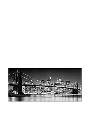 ArtopWeb Panel de Madera Brooklin Bridge 2007 - 92x41 cm