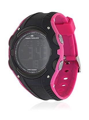 TOM TAILOR Quarzuhr 5410101 schwarz/pink 45 mm