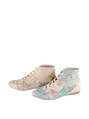 DOGO Zapatos de cordones All Around The World In 80 Days