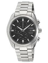 Citizen Eco-Drive Analog Black Dial Men's Watch - CA0021-53E