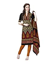 Suhanee Womens Cotton Unstitched Dress Material (Suhanee`S Exclusive Snehaa 1067 _Multi-Coloured)