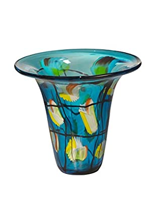 Dale Tiffany Imagination Bowl, Blue Multi