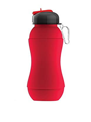 AdNArt Sili-Squeeze Collapsible Silicone Hydra Bottle (Red)
