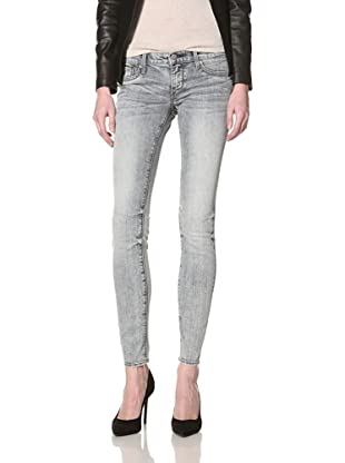 Driftwood Women's Skinny Jean (Blue White Out)