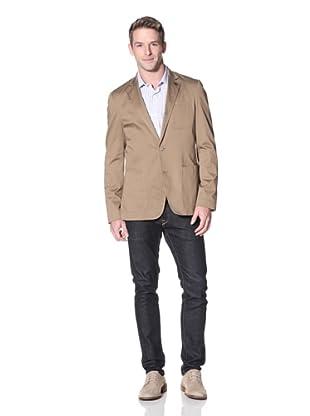 Stone Rose Men's Solid Sportcoat (Khaki)