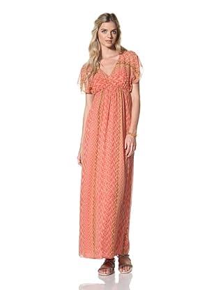 Susana Monaco Women's Anastasia Dress (Watermelon Slice)
