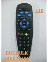 COMPATIBLE TATA SKY DTH TV SETTOP BOX REMOTE, GOOD QUALITY (10 PCS)