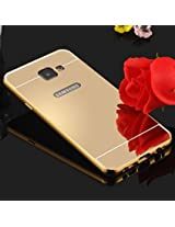 K/B Mirror Back Case Cover For Samsung Galaxy A5(2016) - GOLD