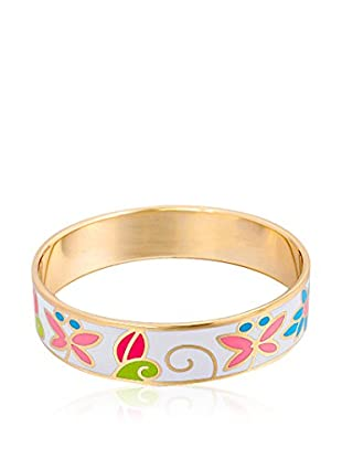 ROSE SALOME JEWELS Brazalete J018 acero bañado en oro 18 ct