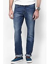 Indigo Slim Fit Jeans (Millard) Wrangler