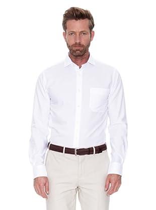 Cortefiel Camisa Estructura Coderas (Blanco)