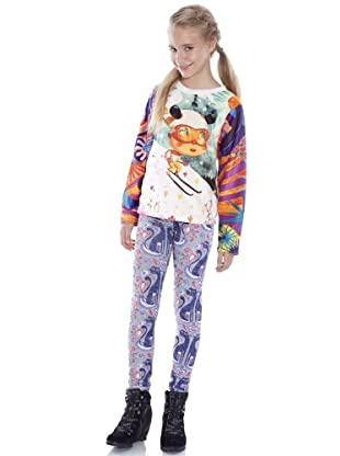 Custo Camiseta Kid Snow (Multicolor)