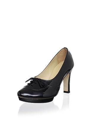 Repetto Women's Nicolai Lace-Up Pump (Black)