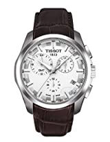 Tissot Brown Leather Chronograph Men Watch - T035.439.16.031.00