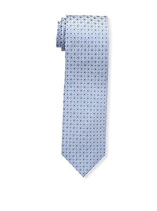 Bruno Piattelli Men's Maze Silk Tie, Blue